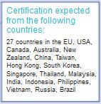 certification countries