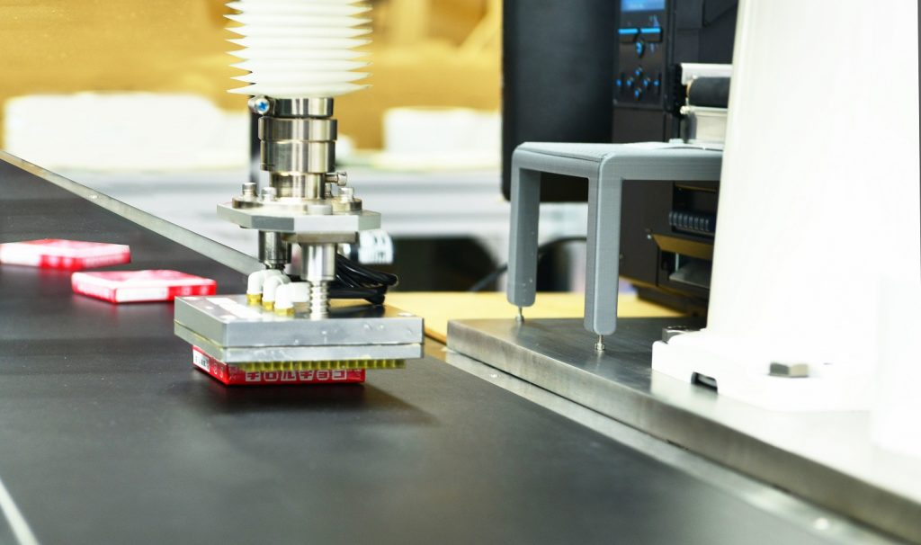 IRLS | Automation Labelling System | Automatic Label Applicator
